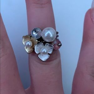 🍑Silver & Gold Stackable Rings